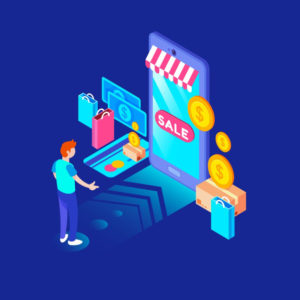 online-shopping-concept-with-flat-design
